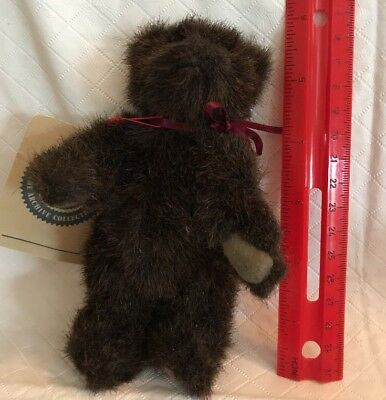 """Boyds Bears Plush Dark Brown Investment Collectables Archive Collection 6"""" NWT"""