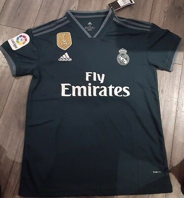 95dcf5fb5b5 REAL MADRID SERGIO Ramos 2017 18 away kit (M) navy - £20.00 ...