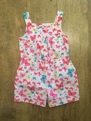 Blue zoo ~ Girls All-in-one Playsuit ~ Age 5-6 Years