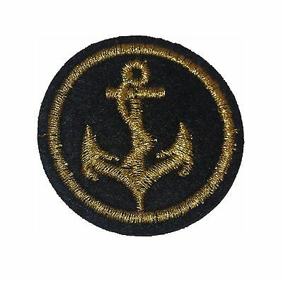 PATCH  ANCRE MARINE  ECUSSON   thermocollant COUTURE