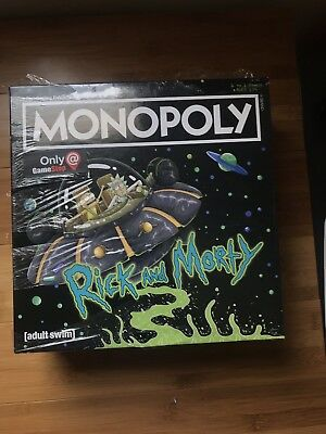 Limited Edition Rick And Morty Monopoly