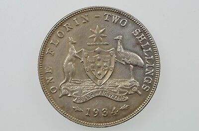 1934 Florin George V in Extremely Fine Condition