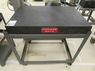 "Precise Granite Surface Plate 36"" x 24"" x 4"" with Stand"