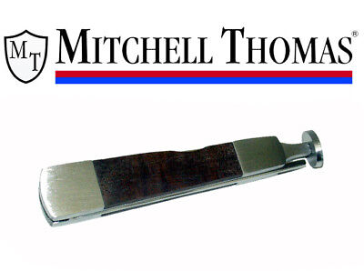 Mitchell Thomas Walnut Handle 3 Way Tobacco Pipe Tool Tamper Poker - New