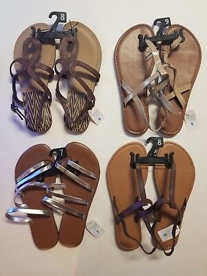 cd382733b0f66e Time   Tru Women s Simple Thong Sandal Choose Color and Size!