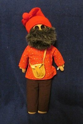 Unique Home Made Cloth Voyageur Doll