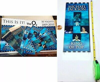 👑 Michael Jackson This Is It Lenticular Concert Tickets $14.95 Each + Free Ship
