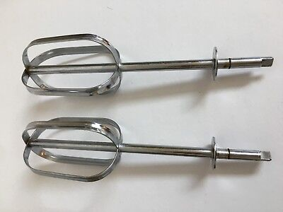 Vintage Sunbeam Handheld Mixmaster HM-2 Replacement Beaters