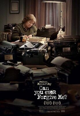 Can you Ever Forgive Me Original DS 27x40 Theater Poster