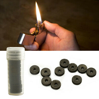 1/5/10PCS Universal Lighter Flint Steel Wheel Repair Part Dia 11mm Inner 2.6mm