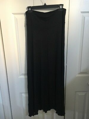 A Pea In The Pot Maternity Skirt Sz S Black