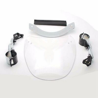 Motorcycle Clear ABS Windshield Windscreen For Harley Dyna Softail Sportster