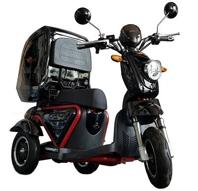 Kruze x750 Electric Mobility Scooter Black - SCRATCH AND DENT SALE