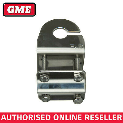 Gme Mb411Ss Mirror Mount Antenna Mounting Bracket With Slot.