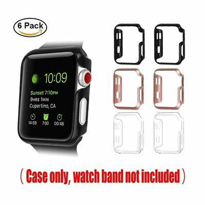 For Apple Watch Case 42mm iWatch Apple Watch Series 3 2 1 Slim Cover Bumper