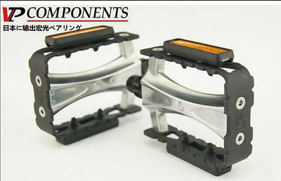 """3583 Vintage BMX Steel Silver Retro Bicycle Bike Pedals 9//16/"""" inch Axle"""