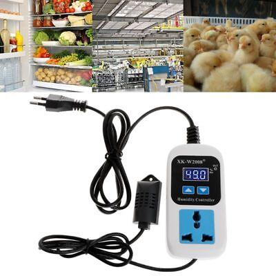 Digital Humidity Controller Hygrostat Moisture Switch Control Socket 110V-220V