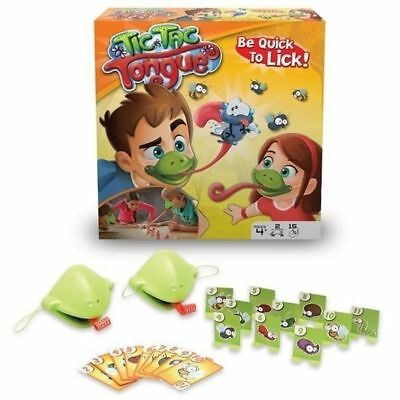 Tic Tac Tongue Chameleon Mask Bug Catch Quickdraw Game Kids Family Xmas Gifts UK