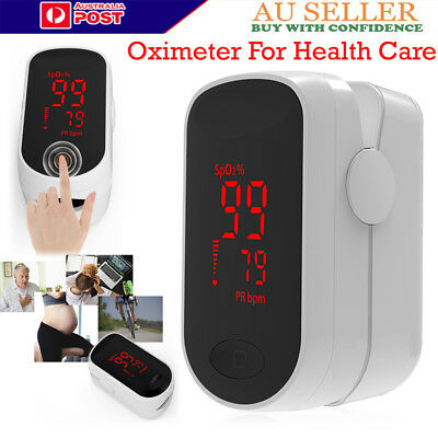 New Finger Pulse Oximeter OLED Blood Oxygen Meter SPO2 Pulse Heart Rate Monitor