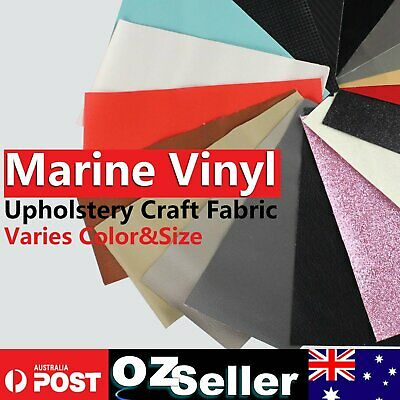 Marine Vehicle Upholstery Faux Leather Renovate Restore Repair Decorate Material
