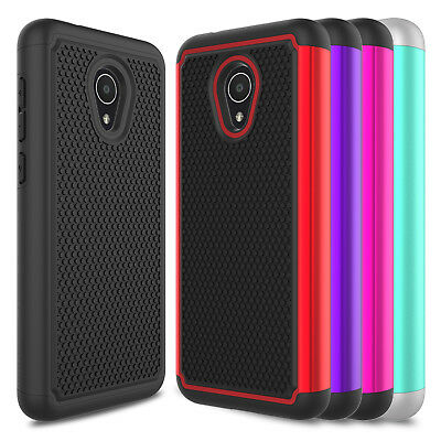 For Alcatel TCL LX A502DL/ IdealXTRA 5059R/ 1X Evolve Armor Skin Slim Case Cover