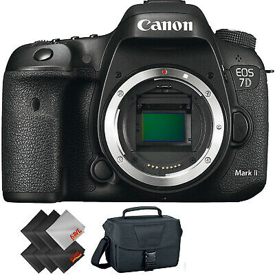 Canon EOS 7D Mark II DSLR Camera (Body Only) + 1 Year Warranty