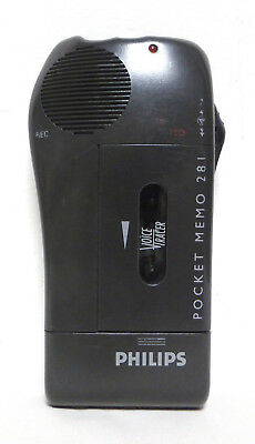Philips Pocket Memo 281: Voice Recorder / Dictaphone USED