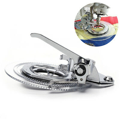 Multifunctional flower stitch circle embroidery presser foot for sewing machine.