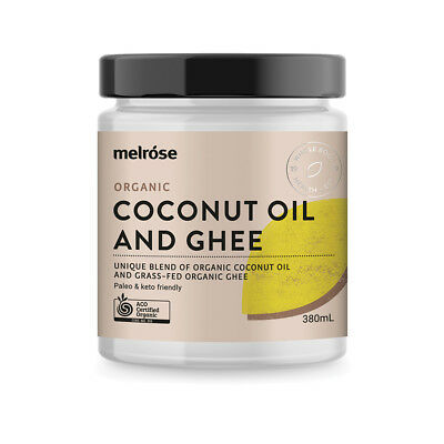 Melrose Organic Coconut and Grass Fed Ghee 380ml