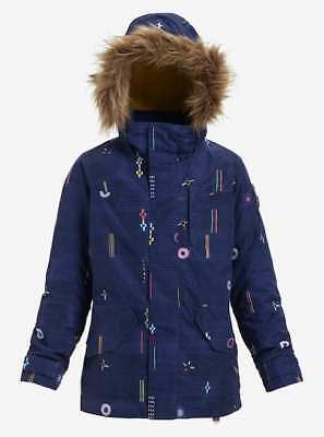 SALE Girl's Burton Aubrey Jacket Camp Craft. RRP £135 2018/2019 Free P&P