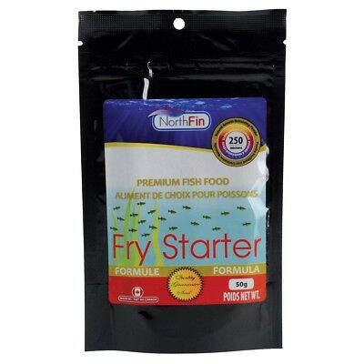 NorthFin Fry Starter Formula 250 Micron Powder 50g Premium Fish Food