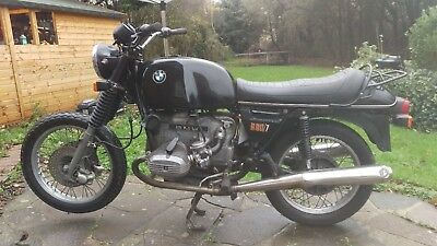 Bmw R80 7 Aircooled 1979 Running Garage Find Cafe Racer Project