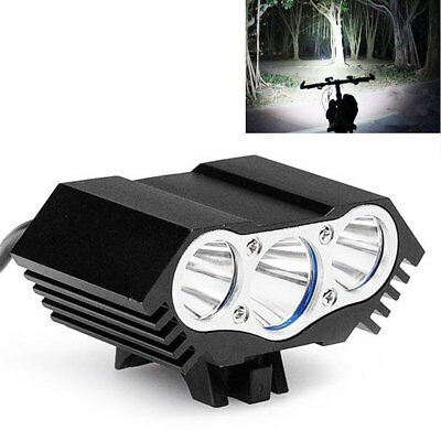Super 8000LM X3 CREE XML T6 LED Bicyclette Vélo Cyclisme Phare Lampe Frontale SQ