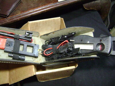 Vintage Amprobe Ultra Clamp Meter With Parts in Case Made In USA. { UNTESTED }