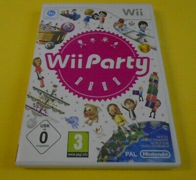 wii PARTY Game Over 80 Fantastic Friends & Family Minigames!! Fun PAL UK Version