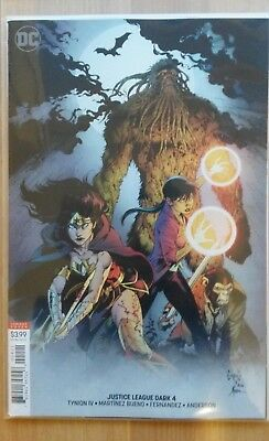 Justice League Dark #4 Variant Bagged and Boarded
