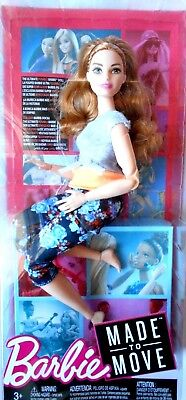 Barbie  FTG84 Made to Move  2017 Mattel