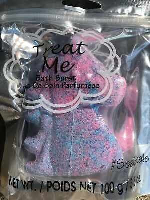 TREAT ME Spa Goals Multicolor Unicorn Shaped Bath Burst Bomb