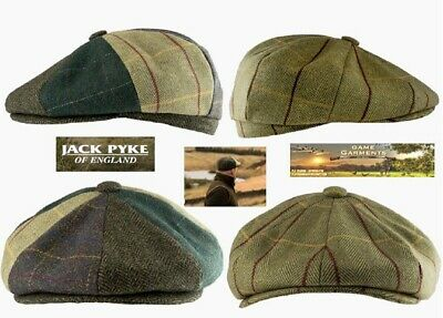 JACK PYKE Wool Blend Trapper Hat Tweed 60 Tweed