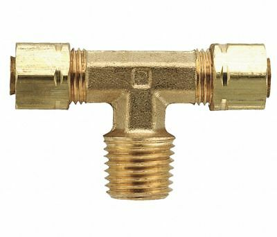 """Parker 172CA-4-2 Brass Compression x MNPT Male Branch Tees 