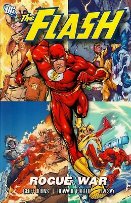 The Flash Rogue Wars TPB DC Johns, Porter and Livesay