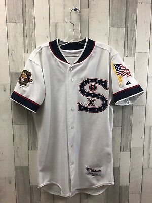 Vintage Boston Red Sox USA Majestic MLB Authentic Jersey Size 40 White
