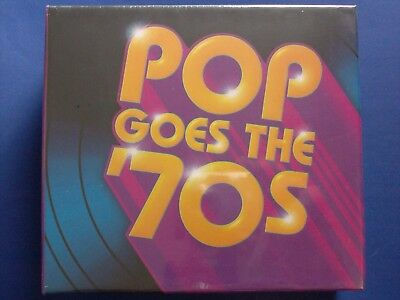 Pop Goes the 70s[Box]by Various Artists(2015,10CDs,StarVista)*BRAND NEW SEALED*