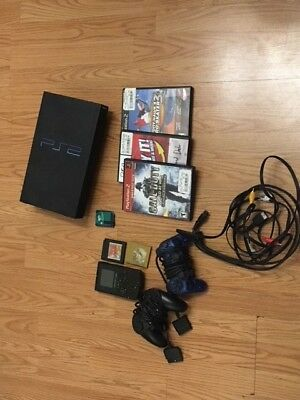 Sony Playstation 2 gaming console PS2 & Nintendo Gameboy Color including games