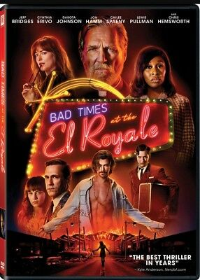 Bad Times At The El Royale (DVD,2018) Preorder Releases Ships 1/1/19