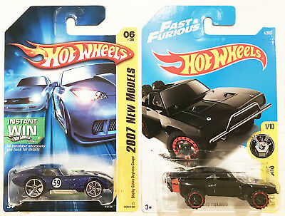 Hot Wheels Lot - Fast & Furious 1970 Dodge Charger + 2007 Shelby Cobra Daytona