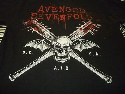 Avenged Sevenfold Shirt ( Used Size M ) Good Condition!!!