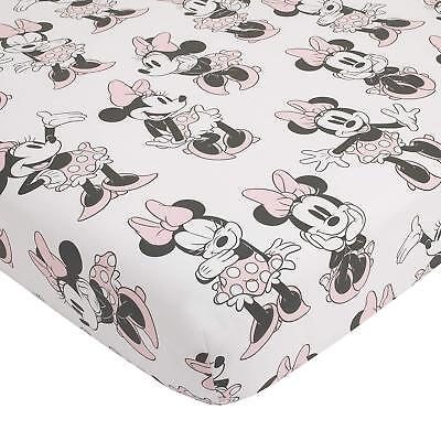 Disney Minnie Mouse Baby Crib  Fitted Sheet
