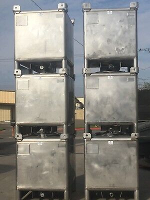 350 gallon stainless steel tote IBC
