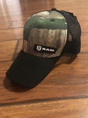 ba8922e1 Dodge Ram Truck Camo Baseball Cap Trucker Hat Trucks Hemi Cummins New Mopar
